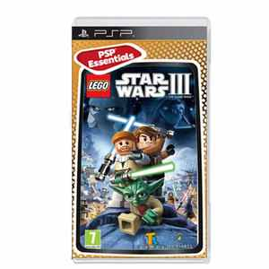 Lego Star Wars 3 Clone Wars Essentials Psp
