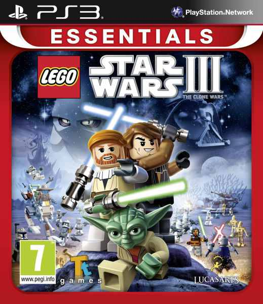 Lego Star Wars 3 Complete Saga Essentials Ps3
