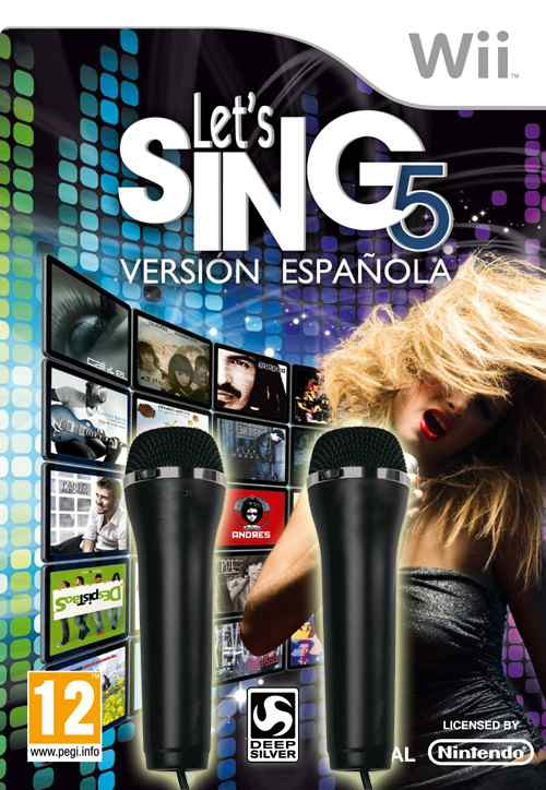 Let S Singversion Espanola Wii