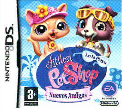 Littlest Pet Shop Friends En La Playa Nds