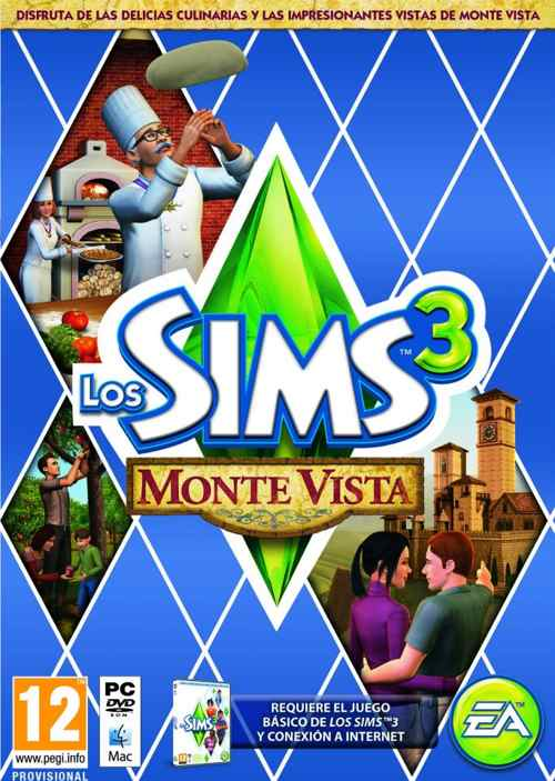 Los Sims 3 Monte Vista  Code In A Box  Pc