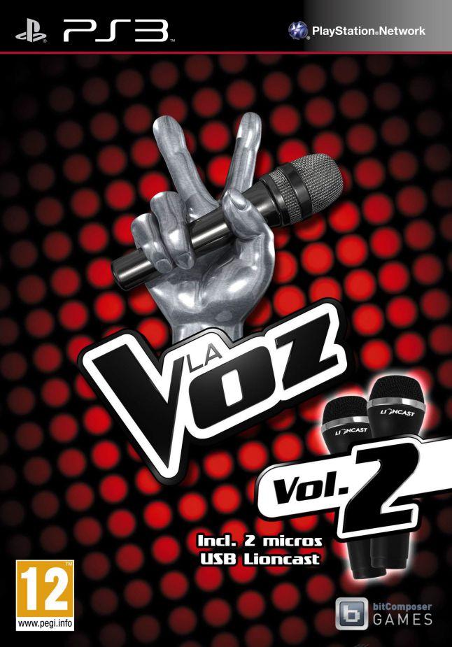 La Voz Vol 2  Microfonos Ps3