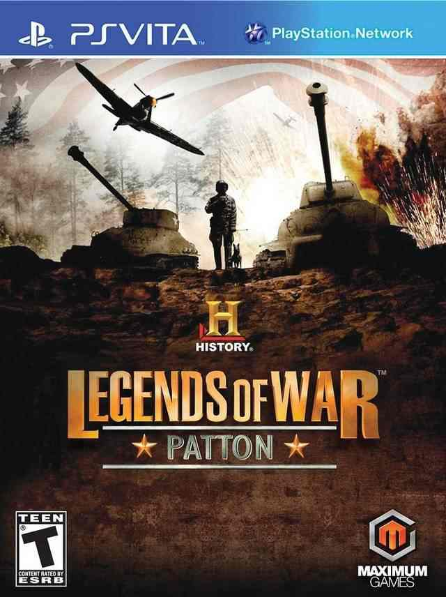 Legends Of War Pattons Campaign Psvita