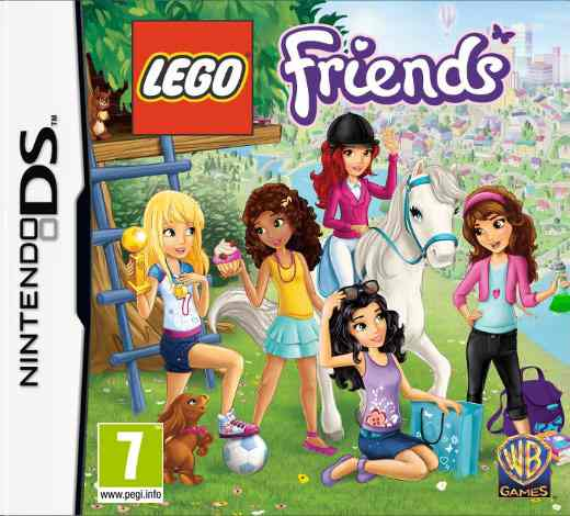 Lego Friends Nds