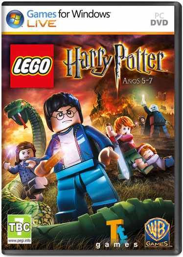 Ver Lego Harry Potter  Anos 5 7 Pc