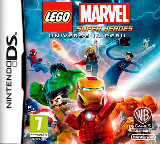 Lego Marvel Superheroes Nds