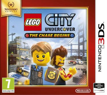 Ver Lego City Uncercover Selects 3Ds