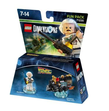 Ver Lego Dimensions Fun Pack Back To The Future Doc Brown