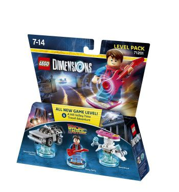 Ver Lego Dimensions Level Pack Back To The Future