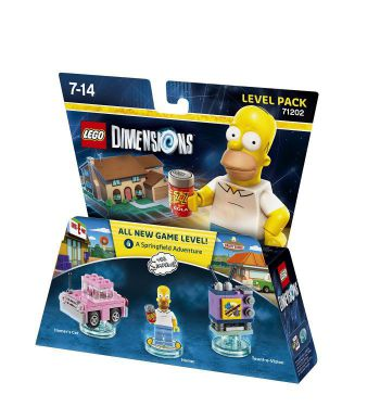 Ver Lego Dimensions Level Pack The Simpsons