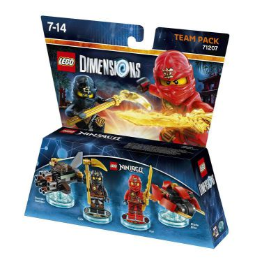 Ver Lego Dimensions Team Pack Ninjago