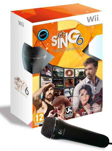 Let S Sing 6 Version Espanola 2 Micros Wii
