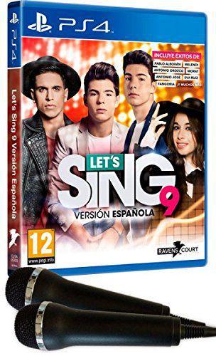 Lets Sing 9 Version Espanola  2 Micros Ps4