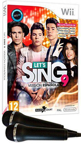 Lets Sing 9 Version Espanola  2 Micros Wii