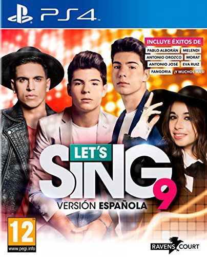 Ver Lets Sing 9 Version Espanola Ps4