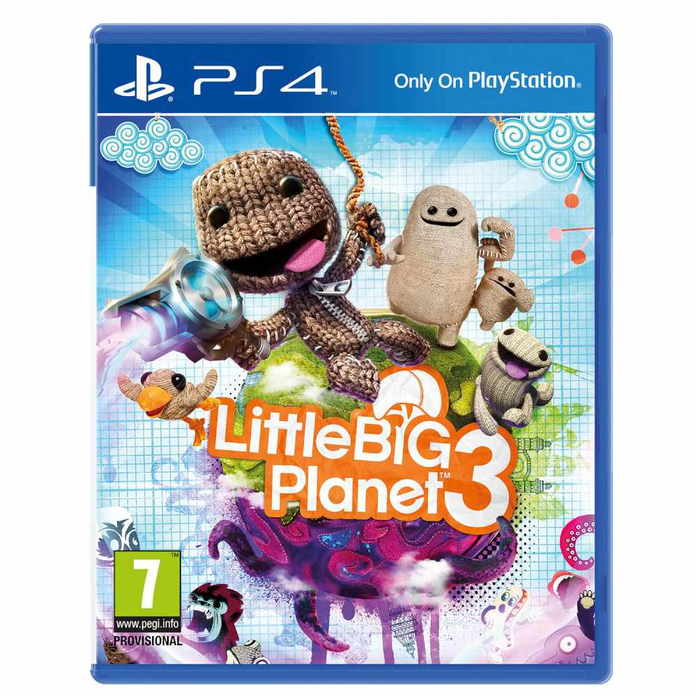Ver Little Big Planet 3 Ps4