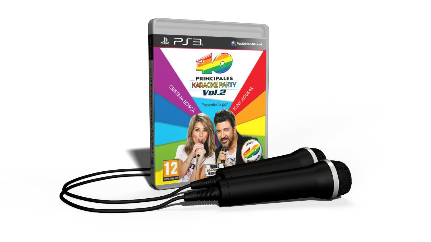 Ver Los 40 Principales Karaoke Party Vol 2  Microfonos Ps3