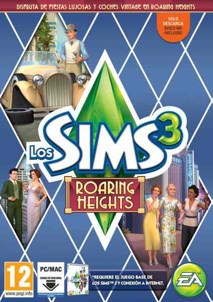 Los Sims 3 Roaring Heights Pc