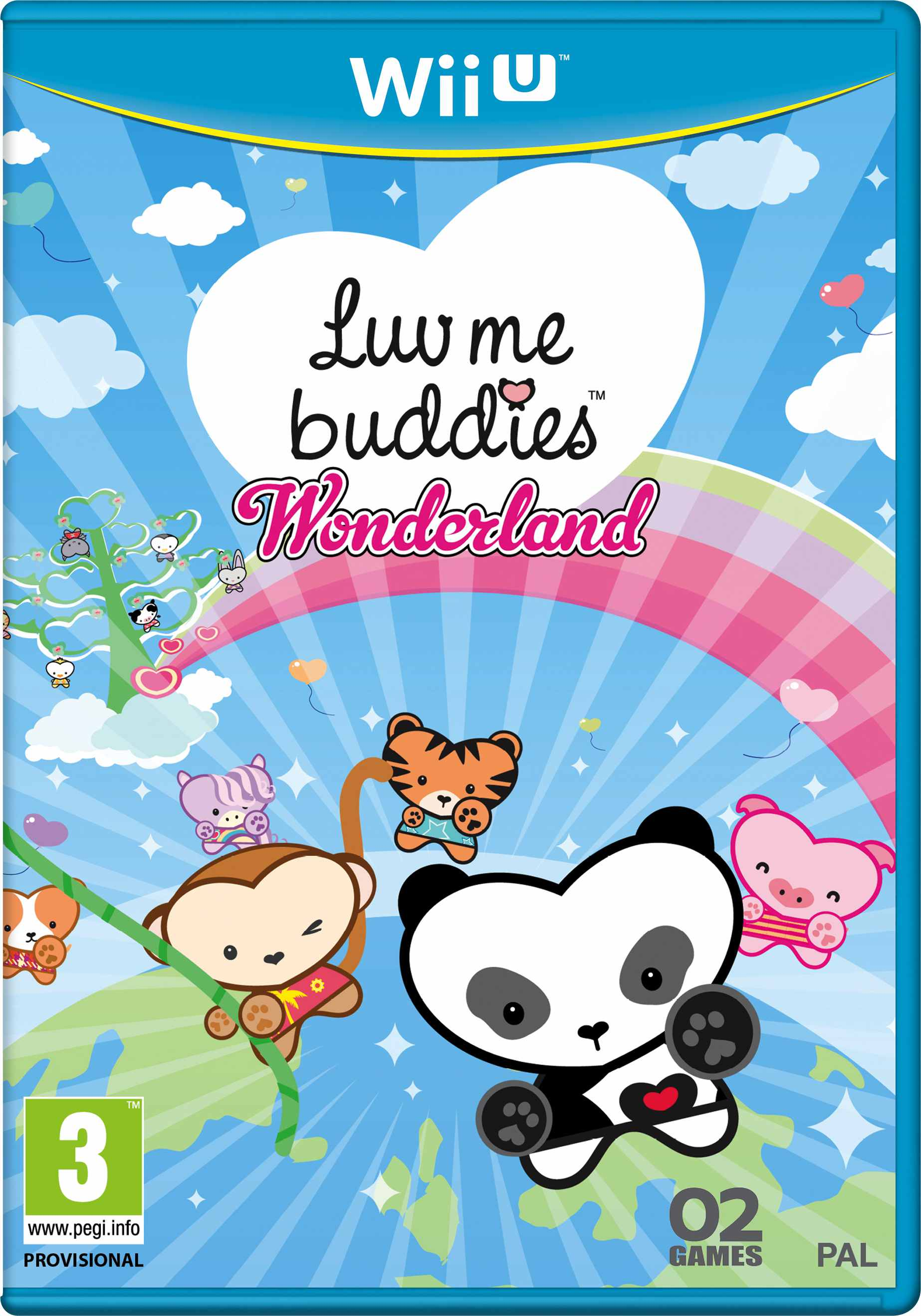 Ver Luv Me Buddies Wonderland Wii U