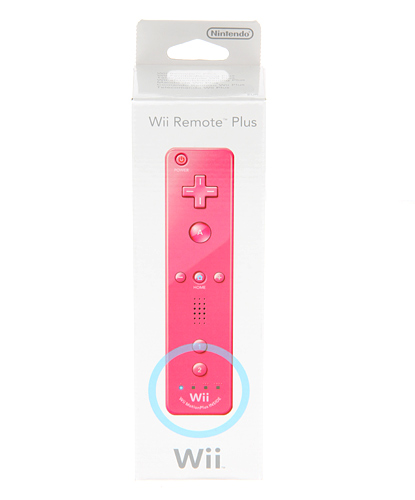Mando Remote Plus Rosa Wii