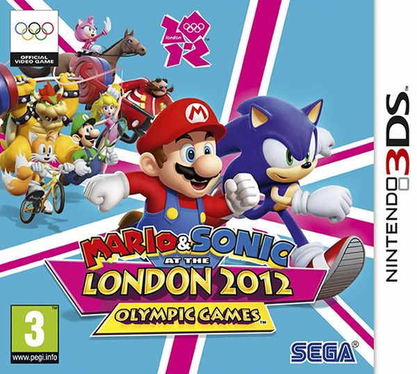 Mario  Sonic En Los Jjoo London 2012 3ds
