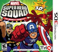 Marvel Super Hero Squad The Infinity Gauntlet 2 3ds