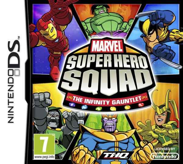 Marvel Super Hero Squad The Infinity Gauntlet Nds