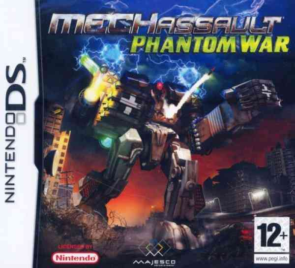 Mechassault Phantom War Nds