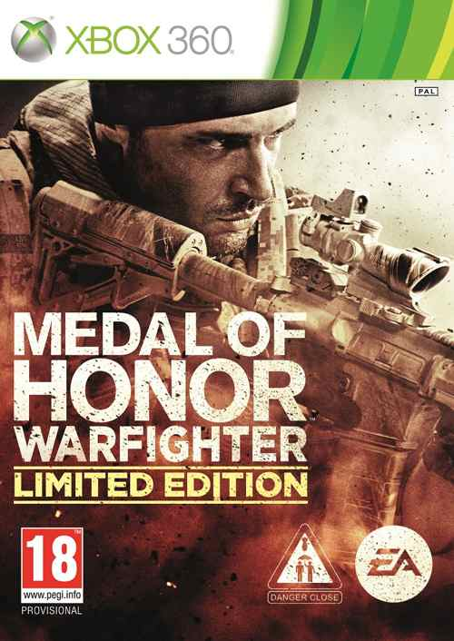 Medal Of Honor Warfighter Edicion Limitada X360