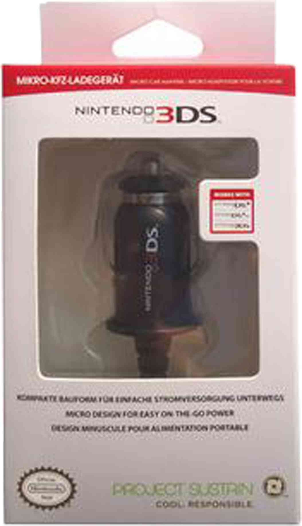 Micro Car Charger 3ds
