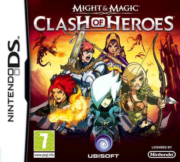 Might And Magic Clash Of Heroes Nds