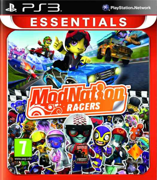 Modnation Racers Esn Ps3