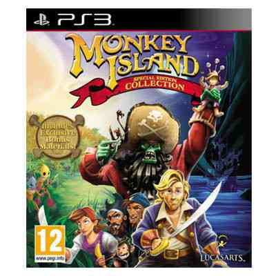 Monkey Island Special Edition Collection Ps3