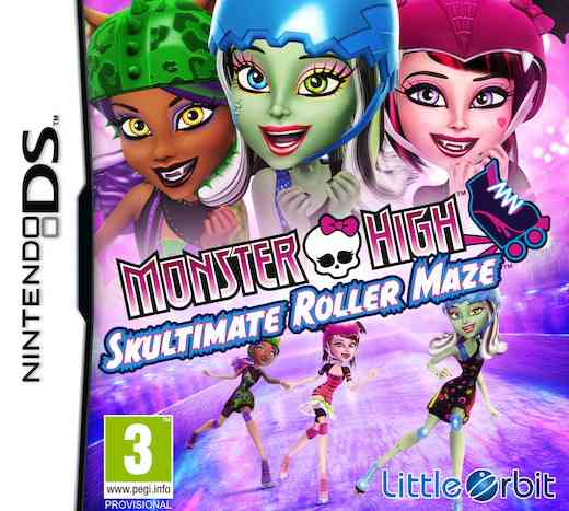 Monster High Patinaje Laberintico Nds