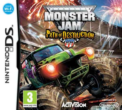 Monster Jam Path Of Destruction  Nds