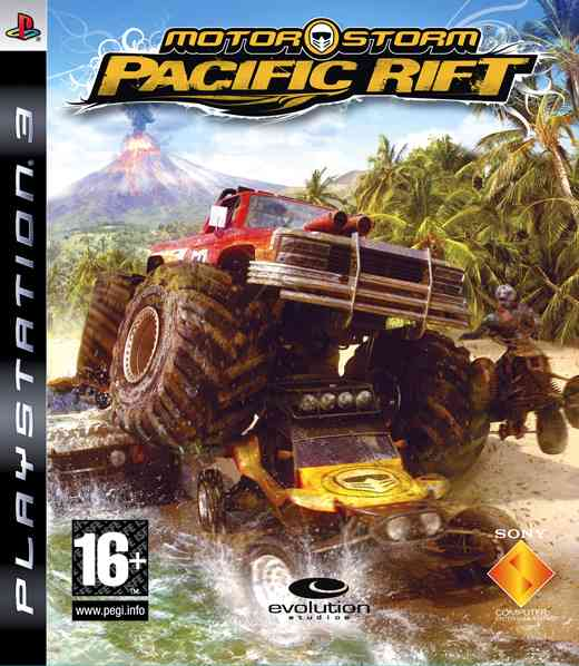 Motorstorm Pacific Rift-platinum Ps3