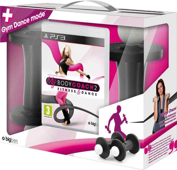 My Body Coach 2   2 Mancuernas Ps3 Move