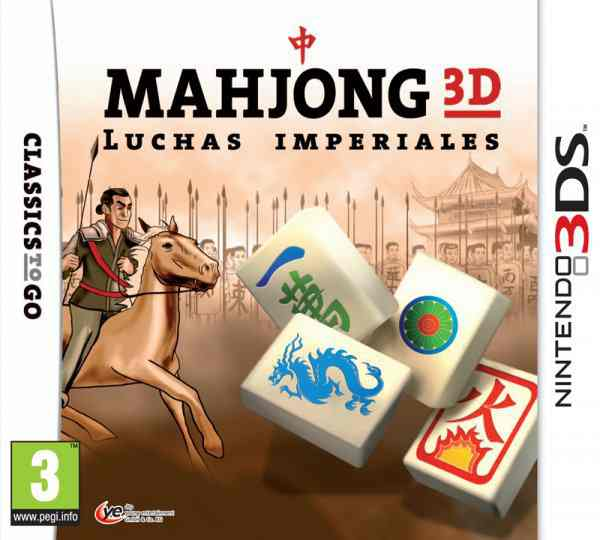 Mahjong 3d Luchas Imperiales 3ds