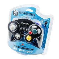 Mando Compatible Negro para Wii y Game Cube Retro