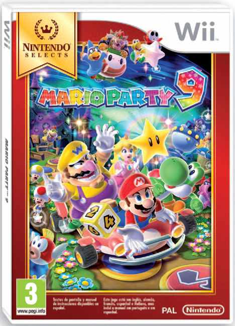 Ver Mario Party 9 Selects Wii