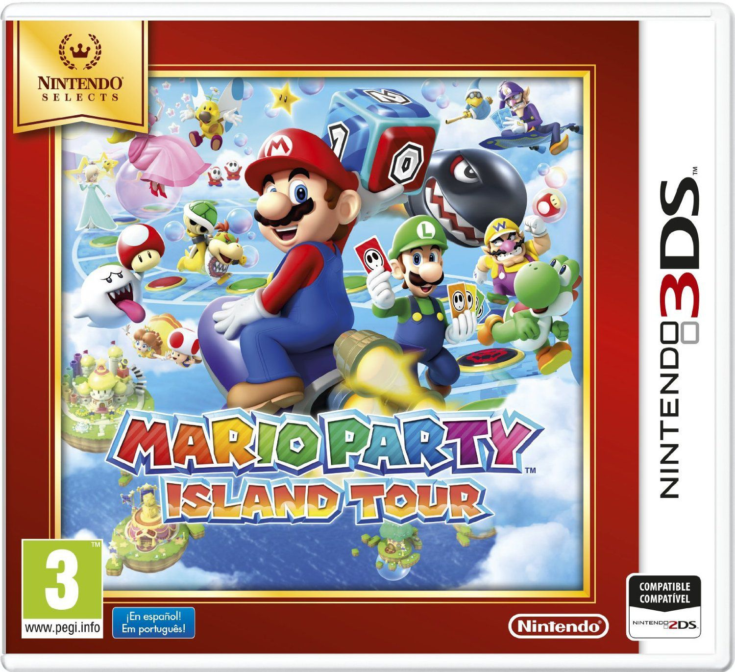 Ver Mario Party Island Tour Selects 3Ds