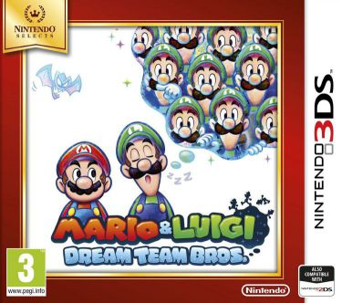 Ver Mario Luigi Dream Team Bros Selects 3Ds