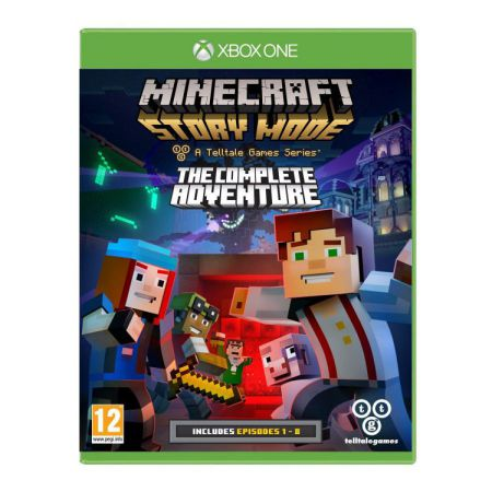 Ver Minecraft Story Mode  The Complete Adventure Xboxone