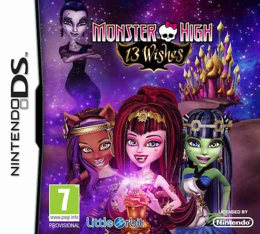 Monster High 13 Deseos Nds