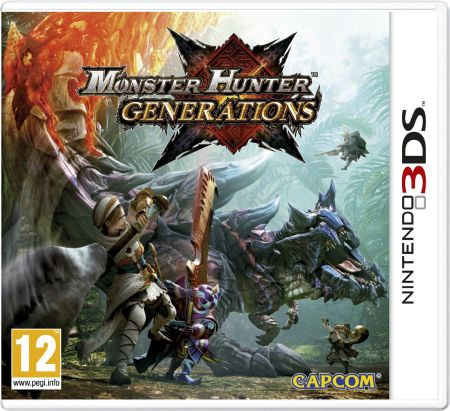 Ver Monster Hunter Generations 3Ds