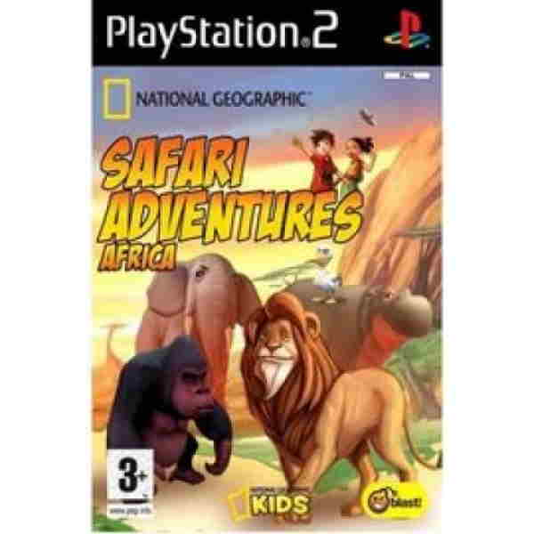 National Geographic Safari Adventure Ps2