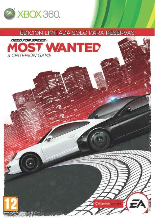 Need For Speed Most Wanted  Edicion Limitada X360