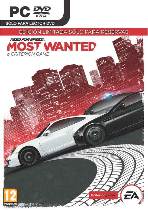 Need For Speed Most Wanted Edicion Limitada Pc