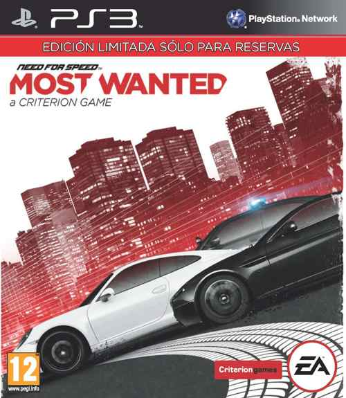 Need For Speed Most Wanted Edicion Limitada Ps3