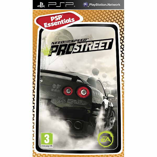 Need For Speed Prostreet Essentials Psp